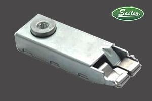 双卡铁壳锁件