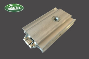 60'square extrusion lock